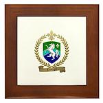 LABORGNE Family Crest Framed Tile