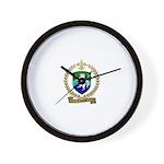 LABORNE Family Crest Wall Clock