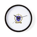 LABAUVE Family Crest Wall Clock