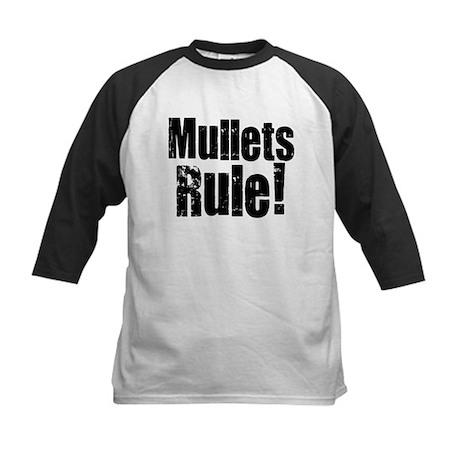 Mullets Rule! Kids Baseball Jersey