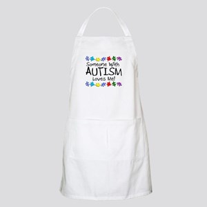 Someone With Autism Loves Me BBQ Apron