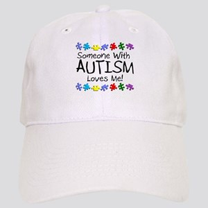 Someone With Autism Loves Me Cap