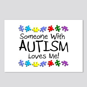 Someone With Autism Loves Me Postcards (Package of