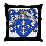 Gevers Family Crest Throw Pillow