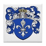 Gevers Family Crest Tile Coaster