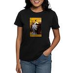 Lady in Blue Women's Dark T-Shirt