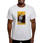 Lady in Blue Light T-Shirt
