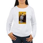 Lady in Blue Women's Long Sleeve T-Shirt