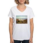 Genoa Women's V-Neck T-Shirt