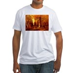 Forest in Autumn Fitted T-Shirt