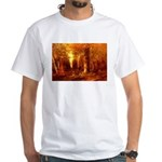Forest in Autumn White T-Shirt