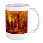 Forest in Autumn Large Mug