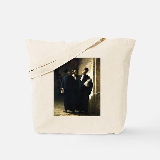 Three Lawyers Tote Bag