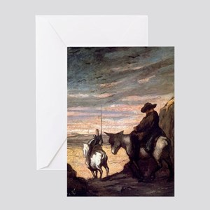 Quixote Greeting Card