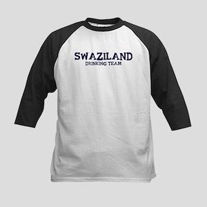Swaziland drinking team Kids Baseball Jersey