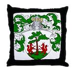 Hageman Family Crest Throw Pillow