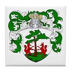 Hageman Family Crest Tile Coaster