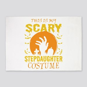 This Is My Scary Stepdaughter Costu 5'x7'Area Rug