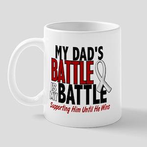 My Battle Too 1 PEARL WHITE (Dad) Mug