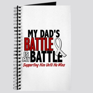 My Battle Too 1 PEARL WHITE (Dad) Journal