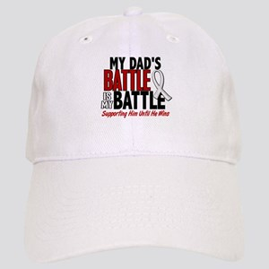 My Battle Too 1 PEARL WHITE (Dad) Cap