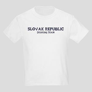 Slovak Republic drinking team Kids Light T-Shirt