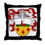 Hartman Family Crest Throw Pillow