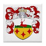 Hartman Family Crest Tile Coaster