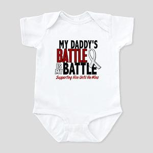 My Battle Too 1 PEARL WHITE (Daddy) Infant Bodysui