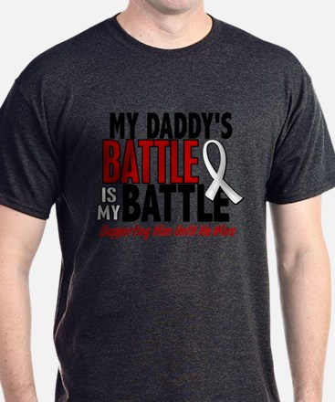 My Battle Too 1 PEARL WHITE (Daddy) T-Shirt