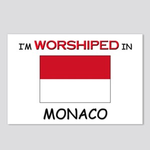 I'm Worshiped In MONACO Postcards (Package of 8)