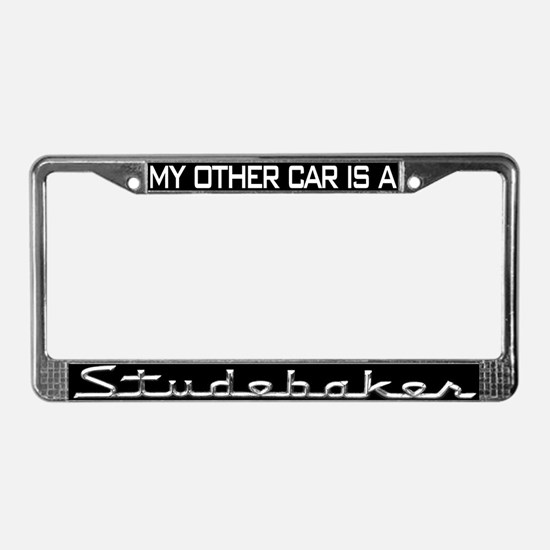 Cute Pierce License Plate Frame