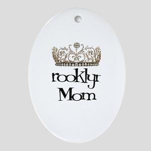 Brooklyn's Mom Oval Ornament