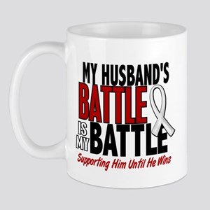 My Battle Too 1 PEARL WHITE (Husband) Mug
