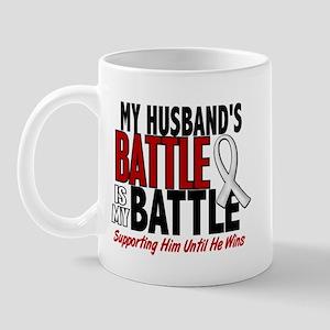 My Battle Too 1 PEARL WHITE (Husband) Mug