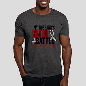 My Battle Too 1 PEARL WHITE (Husband) Dark T-Shirt