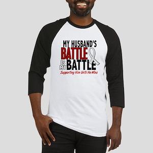 My Battle Too 1 PEARL WHITE (Husband) Baseball Jer