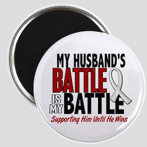 My Battle Too 1 PEARL WHITE (Husband) Magnet
