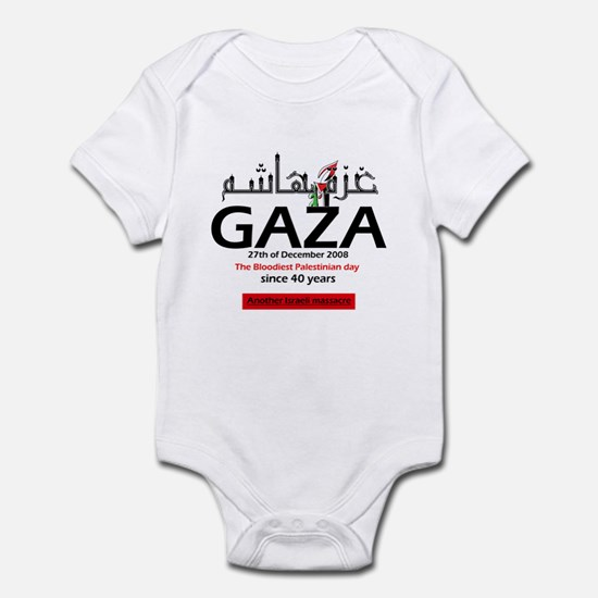 Gaza Massacre Infant Bodysuit