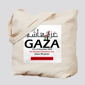 Gaza Massacre Tote Bag