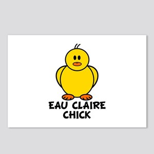 Eau Claire Chick Postcards (Package of 8)