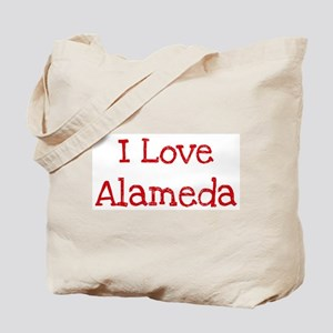 I love Alameda Tote Bag