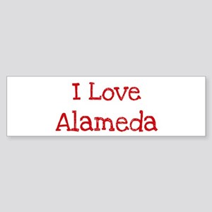 I love Alameda Bumper Sticker