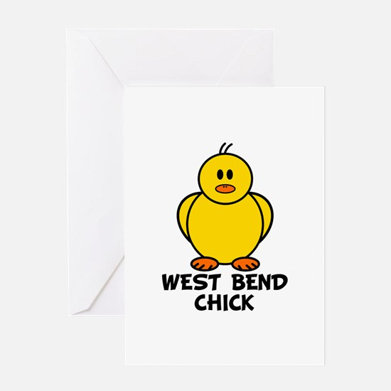 West Bend Chick Greeting Card