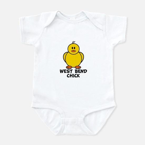 West Bend Chick Infant Bodysuit