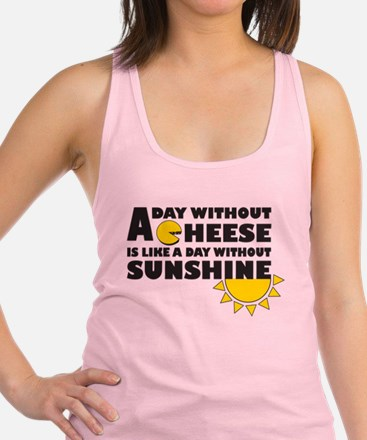 A Day Without Cheese Tank Top