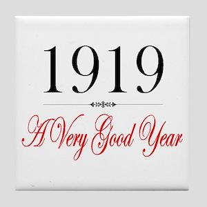 1919 Tile Coaster