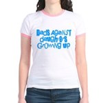 Dads Against Daughters Growing Up Jr. Ringer T-Shi