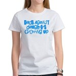 Dads Against Daughters Growing Up Women's T-Shirt