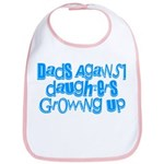 Dads Against Daughters Growing Up Bib